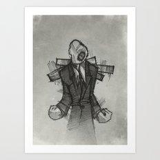 Wraith II. Art Print