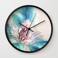 wonder Wall Clocks featuring wonder by Claudia Drossert