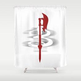 Buffy's Scythe Shower Curtain