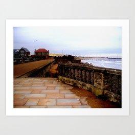 the coastal images series  - blyth Art Print