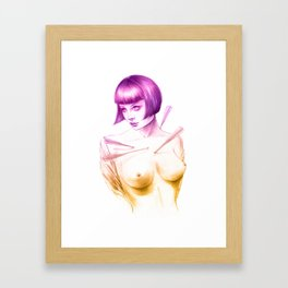 Louise Framed Art Print