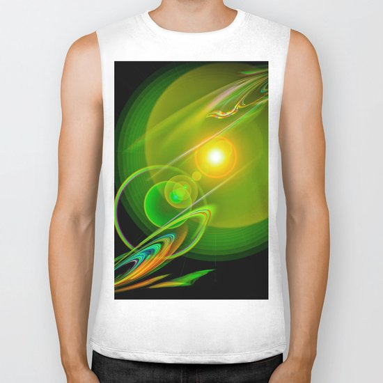 Abstract Perfection 58 Biker Tank