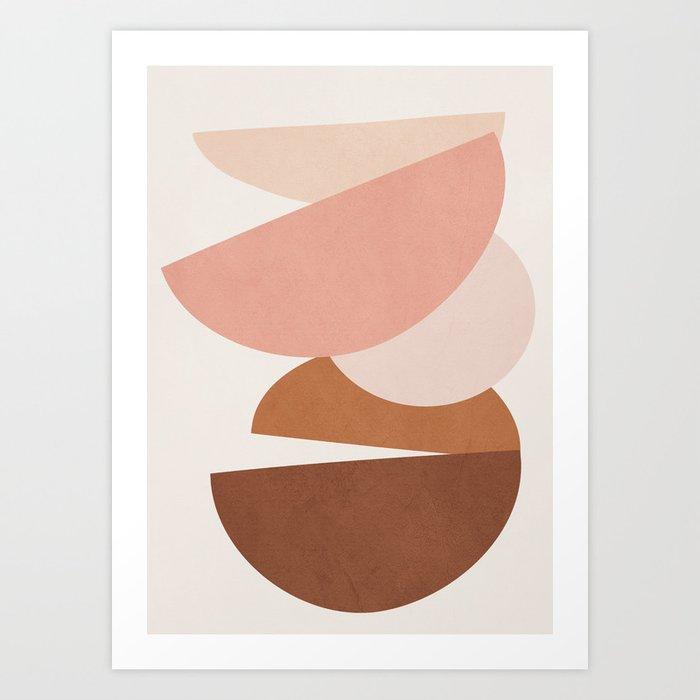 Abstract Stack II Art Print