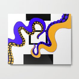 Octopodes Metal Print