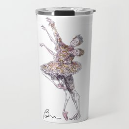 Iana Salenko and Steven McRae in Nutcracker pas de deux Travel Mug
