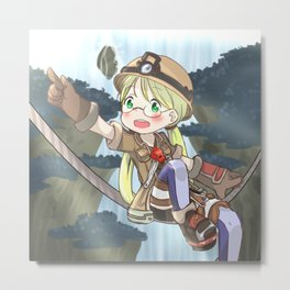 Riko - Made In Abyss Metal Print