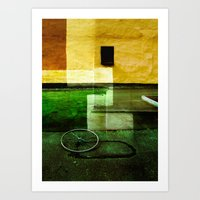 Urban abstraction Art Print