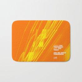 The Love Series 200 Orange Bath Mat