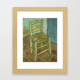Van Gogh's Chair Framed Art Print