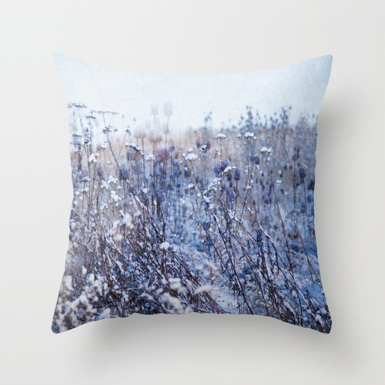 Winter Field 3 Throw Pillow