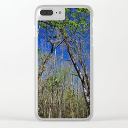 Withering Hour Clear iPhone Case