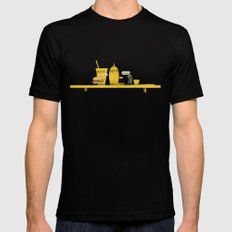 On Board MEDIUM Mens Fitted Tee Black