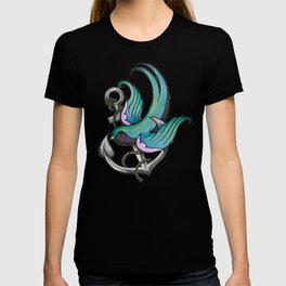 Vintage Tattoo Style Swallow T-shirt