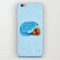 aquarius iPhone & iPod Skins featuring Aquarius by Giuseppe Lentini