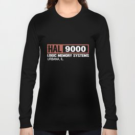 Hal 9000 Science Fiction Movie  Monolith  Sci Fi Astronaut Science T-Shirts Long Sleeve T-shirt