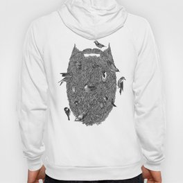 Bird Beard Hoody