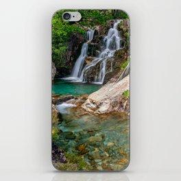 Watkin Path Waterfall Snowdonia iPhone Skin