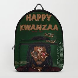 KWANZAA Gifts and Cards for a King Backpack