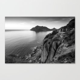 View from Chapman's Peak drive in Cape Town, South Africa Canvas Print