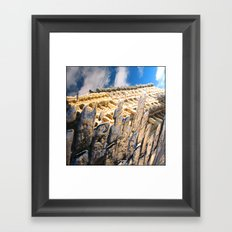 Puddles Framed Art Print