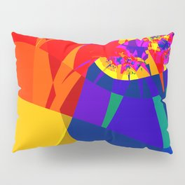 fractal composition N1 Pillow Sham