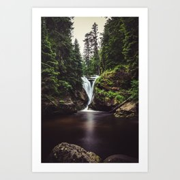 Pure Water - Landscape and Nature Photography Art Print