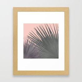 TWO PALM LEAVES Framed Art Print