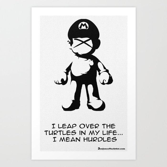 Ex Mario Art Print