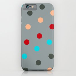 Dots all Folks  iPhone Case