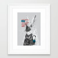 politics Framed Art Prints featuring Politics by YONIL
