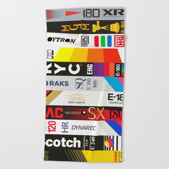 VHS Beach Towel