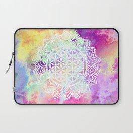 Flower Of Life (Batik 13) Laptop Sleeve