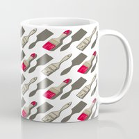 tool Mugs featuring Tool Time by Pattern Design