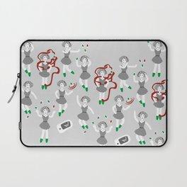 Evil Smartphones Pattern Laptop Sleeve