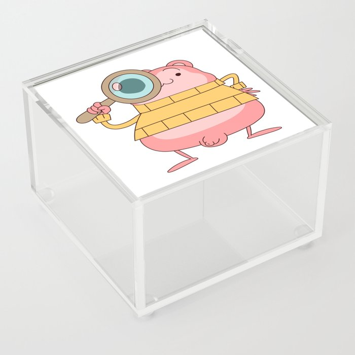 Peepoodo is watching you Acrylic Box