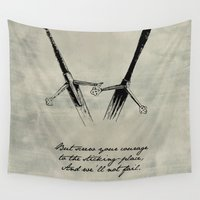 shakespeare Wall Tapestries featuring Macbeth - Shakespeare by pithyPENNY