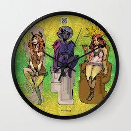 Bloom: An Awakening - The Sparrows Wall Clock