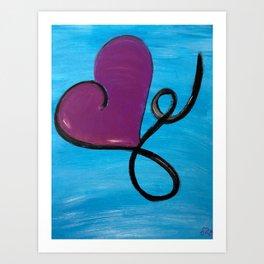 Love in Color #5 - Love Takes Flight Art Print