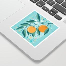 Oranges Sticker