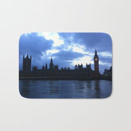 Nightfall upon London. Bath Mat