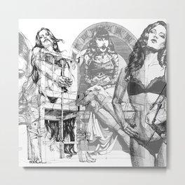TRIPTYCH_part_2 Metal Print