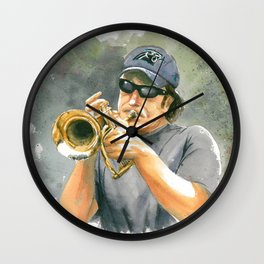 Sunday In The Park Wall Clock