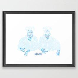 Lets Cook Framed Art Print