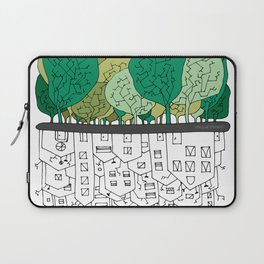 SCONFINAMENTI-CITY AND NATURE Laptop Sleeve