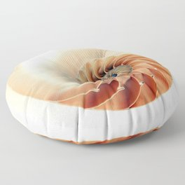 Shell of life Floor Pillow