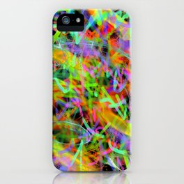 Glowstick Party iPhone Case