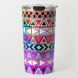 Tribal Pattern 08 Travel Mug
