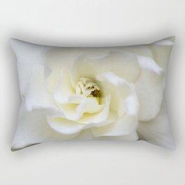 White Gardenia Rectangular Pillow