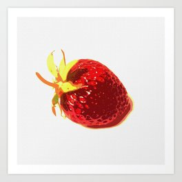 Strawberry - Old Man of the Earth Art Print