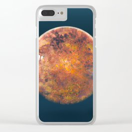 Sphere_06 Clear iPhone Case